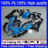 Body Injectie Mold OEM voor Suzuki 1000cc GSX-R1000 2005-2006 Moto Carrosserie 26NO.97 GSXR 1000 cc K5 GSXR1000 2005 2006 GSXR-1000 05 06 100% Fit Fairing Blue Black Hot