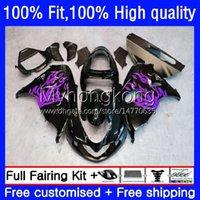 Kroppssprutningsform för SUZUKI SRAD TL1000R TL1000 1998-2003 30NO.114 TL 1000 R 1000R Purple Black 1998 1999 2000 2001 2002 2003 TL-1000R 98 99 00 01 02 03 OEM Fairing Kit