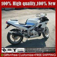 Bodys for Yamaha FZR250RR Blue White Stock FZRR FZR 250R 250RR FZR 250 90 91 92 93 94 95 109HC.53 FZR-250 FZR250R FZR-250R FZR250 R $ 1990 1991 1995 1995 Kit de Feira