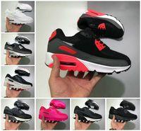 2021 NUEVO 90s Running Sports Shoes Barato 90 Hombres Mujeres Negro Blanco Infrarrojo Recraft Royal Denham Zapatillas al aire libre Classic Designers Shoes B55