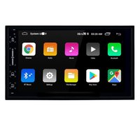 7 inch 2 Din Android Car Universal Video GPS Navigation Radio with HD Touchscreen Bluetooth support OBD2 Carplay Steering Wheel Control
