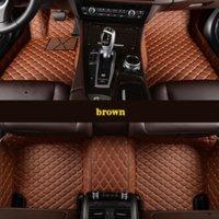 VW Scirocco Santana Sharean Tiguan Touareg 자동차 액세서리에 대한 맞춤형 5 좌석 자동차 바닥 매트
