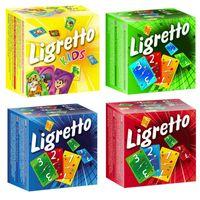 Englische Karten Tarot Board Spiel Ligrretto Erwachsene Party Kinder Pädagogische Spielzeug Kinderkartenspiele 4 Farben DHL