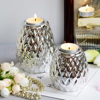 Candle Holders Table Bulk Luxury Holder Golden Candlestick Wedding Centerpieces Bougeoir Mariage Gold Home Decor BS60CH