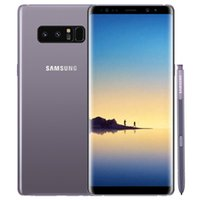 Original recondicionado Samsung Galaxy Note 8 N950F N950U 6.3 polegadas OCTA CORE 6GB RAM 64GB ROM 12MP desbloqueado 4G LTE Telefone inteligente Livre DHL 1 PCS