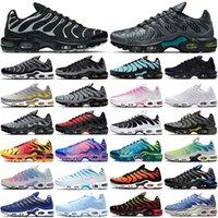 tn air max airmax plus tn  حذاء رياضي رجالي من tn plus للجري ثلاثي أسود أبيض Oreo Hyper Blue Greedy tns أحذية رياضية للرجال