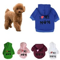 Dog Apparel Cartoon Hoodie Winter Pet Clothes For Dogs Coat Jacket Cotton Pets Clothing