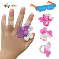 Ring Sunglasses Fidget Toys Its simple dimple Push Bubble Kawaii Girl Decoration Funny Toy For Children birthday gifts