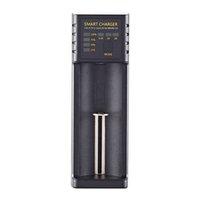 Smart Rapid Universal Input 5V Sortie 4.2V 1 Slot 3.7V 18650 Lithium Ion Batterie Chargeur USB pour 26650 21700 16340