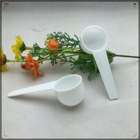 5 / 10g plástico colher de medição pp colher de medição leite pó de frutas pó de plástico de plástico colher ferramenta de cozinha