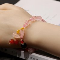 Charm Bracelets Natural Crystal Women On Hand Chain Bangles Jewelry Aesthetic Fashion Female Now 2021 Vintage Classic