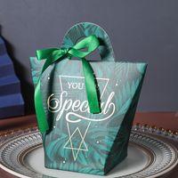 T-şekilli Kolu Şeker Çanta Bebek Duş Kağıdı Çikolata Kutuları Doğum Günü Düğün Şerit Olmadan Şeker Kutuları Şekeri GGA4175
