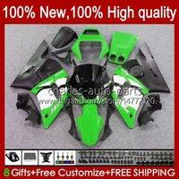 Bodys Kit para Yamaha YZF R6 R 6 98-02 YZFR6 98 99 00 01 02 Bodywork 1No.68 YZF 600 CC YZF-600 YZF-R6 YZF600 600CC 1998 1999 2000 2001 2002 ABS Fairing Green Factory