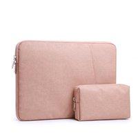 Sac à dos à manches portables 13 14 15 pouces pour sac de portable HP Dell Velvet Carrying Sacs MacBook Air Pro 13.3 Cas antichoc