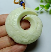China Lantian jade fortune change pendant free delivery