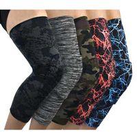 Elbow & Knee Pads 1PC Compression Sleeve Pad Long Leg Bandage Sports Running Warmer Anti-Slip Elastic Protector