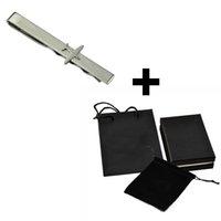Hot 316L Edelstahl-Krawatten-Clips männlich Luxus-Krawatte-Bar-Metallkragen-Aufenthalte-Hemdeinsätze Geschenk für Geschäftsleute Vater Pince Cravate