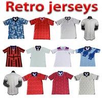 1999 98 Jersey de futebol retrô Ferdinand Fowler Hesque Rooney Gerrard Home Away Shearer Scholes Beckham Adulto + Kids Football Shirt