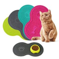 Cat Beds & Furniture Pet Dog Litter Mat Feeding Water Puppy Dish Bowl Placemat Tray Tidy Easy Cleaning Accessories