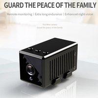 Kamera Mini Kamera Küçük 1080 P HD Kamera Kızılötesi Gece Görüş Mikro Cam Hareket Algılama Spor DV Destek ESPIA