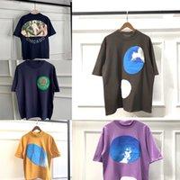 Kanye West Jesus Is King Women Men Oversized T Shirts Streetwear T-shirt X0726