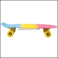 Skateboard-Action-Sportarten im FreienKateboarding 22-Zoll-Mini-Skateboard für Kinder Grafik Retro Kind Skateboard Cruiser Drop Lieferung 2