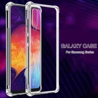 Shockproof Phone Cases For Samsung Galaxy A50 A51 A70 A71 A80 A10 A40 A20 A30 A60 A50S A70S A30S clear Silicone Case Back Cover