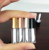50/100 ADET Boş 3 ml Temizle Dudak Parlatıcı Tüp Dudaklar Balm Şişe Fırça Konteyner Güzellik Aracı Mini Doldurulabilir Şişeler Ruj ŞişeHigh QTY