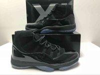 Com Caixa Original 11 Prom Noite Homens Mulheres Basquetebol Shoes Cap e vestido Blackout 11s Black Gamma Blue Concord Criado Treinadores Sports Sneakers