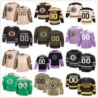 Boston Bruins Formalar Erkek Kadın Çocuk Tuukka Asker David Krejci Torey Krug Bobby Orr Adam Oates Charlie Coyle Chris Wagner Hokey Özel Jersey