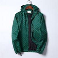 2021 Erkek Tasarımcılar Yüz Kuzey Ceket Sonbahar Dış Giyim Rüzgarlık Hoodie Fermuar Rahat Kapüşonlu Ceketler Ceket Dış Spor Asya Boyutu Erkek Giyim