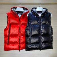 Mannen Down Vesten Winterjas Parkas Jas Hooded Bovenkleding Waterdicht voor Dames Windjack Warme Hoodie Dikke kledinghoed