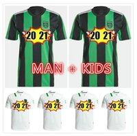 2021 2022 CECILIO AUSTIN FC Soccer Jerseys Anel Besler Fagundez Home Kit Away 21 22 Homens Crianças Futebol Camisetas Camisetas Futbol Maillot de Foo