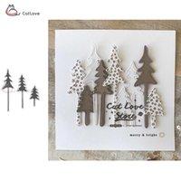 Painting Supplies Tree House Deer Metal Christmas Cutting Dies Stencils For DIY Scrapbooking Paper Card Craft Embossing Die Cuts 2021