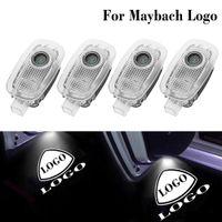 LED porta de carro luz fantasma para mercedes maybach logotipo laser project welcome lâmpada emblema fit benz s classe w221 2006 2007 2008-2013