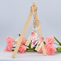 Keychains Trendy 26 Letter Pendant Key Chain Ring Women Men Dried Flower Keychain A To Z Keyring Holder Luxury Charm Bag Accessories Gift