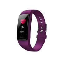 Y9 Smart Armband Aktivität Tracker Fitness Armband Herzfrequenz Monitor Blutdruckuhr Armbänder für Smartphone Smartband