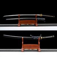 Autre décoration de la maison Katana Real Samurai Épée essentielle pour le combat réel Fine Damascus