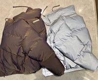 Ins Infliftive CP SSE Men's Down Parkas 21ss дизайнерская куртка Высочайшая версия Света для вечерней лазерной отражения Популярность Письмо печатания пот теплые 3 цвета