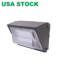 Dusk-to-dawn photocell, 125w 방수 야외 상업 조명기구, 가로등 80-180w T, 5000k 7200lm AC100-277V와 LED 벽 램프