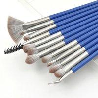 Makeup Brushes 12Pcs Kit Set Cosmetic Powder Eye Shadow Eyeliner Foundation Blush Blending Beauty Face Eyes Make Up Brush