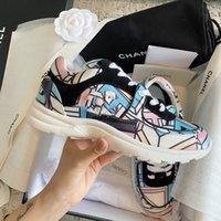 2021 Uomini Donne Donne Riflettente Scarpe Casual Top Designer Sneakers di lusso Party Velvet Velveskin Fibra misto Fibra di alta qualità con scatola