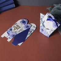 T-şekilli Kolu Şeker Çanta Bebek Duş Kağıdı Çikolata Kutuları Doğum Günü Düğün Şerit Olmadan Şeker Kutuları Şekeri ZZC4175