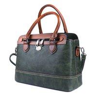 Imyok старинные женщины зеленые руки сумки мягкие кожаные женские сумки на плечо многофункциональная сумка роскошные дамы crossbody tote bolsoa