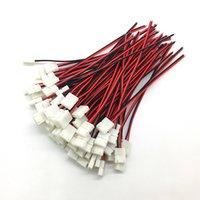 50pcs / lot sans soudure 2 broches Connecteurs de bande LED à 2 broches 8 mm 10 mm Connecteur de fil d'alimentation pour 3528/5050 Ruban de PCB à bande LED