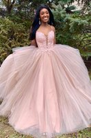 Party Dresses Backless Ball Gown Pink Formal Dress Women Elegant Long Evening For Wedding Prom 2021