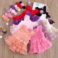 Jumpsuits Born Infant Baby Girls Strap Solid Gauze Bow Ruffled Romper Bodytsuit Dress Rompers Vestiti Neonato Maschio E1