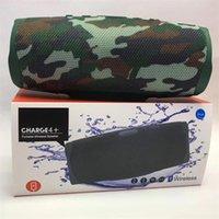 50% Rabatt auf das Ladegerät 4+ Bluetooth-Lautsprecher Subwoofer drahtlose tiefe stereo tragbare Lautsprecher mit Einzelhandelspaket DHL