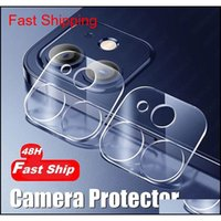 Cell Screen Protectors 48 Hours Fast Ship Back Lens Protective Tempered Glass 12 Mini 11 Pro Max Camera Protector For Phone X Xr 6S 8 Znrne