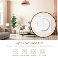 Smart Home Control WiFi Touch Touch Dimmer Switch Switch Timer Life TUYA APP Appareil à distance avec Alexa Google 0.5w 100-240V 90%